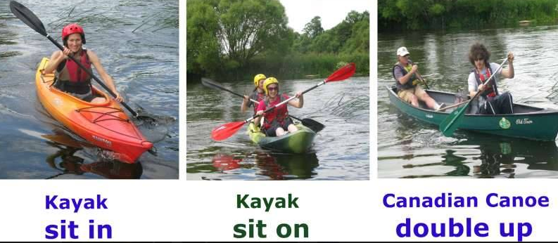 Sit in and Sit on Kayak